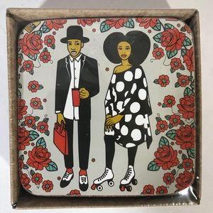 Artsy Anthropologie Coasters & Cocktail Napkins